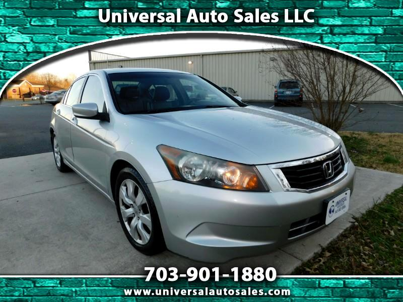 2008 Honda Accord EX-L Sedan AT with Navigation