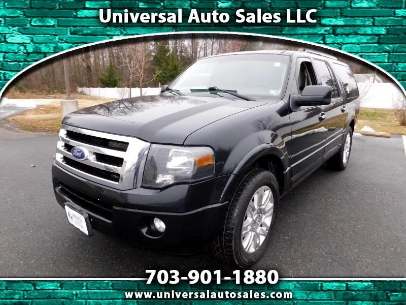 2011 Ford Expedition EL LIMITED, POWER FOLDABLE SIDE STEPS!