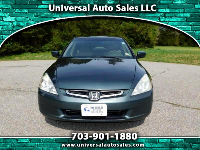 2005 Honda Accord LX sedan AT