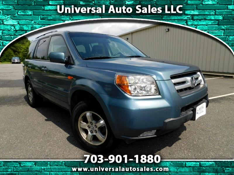 2007 Honda Pilot EX-L W DVD ENTERTAINMENT PACKAGE