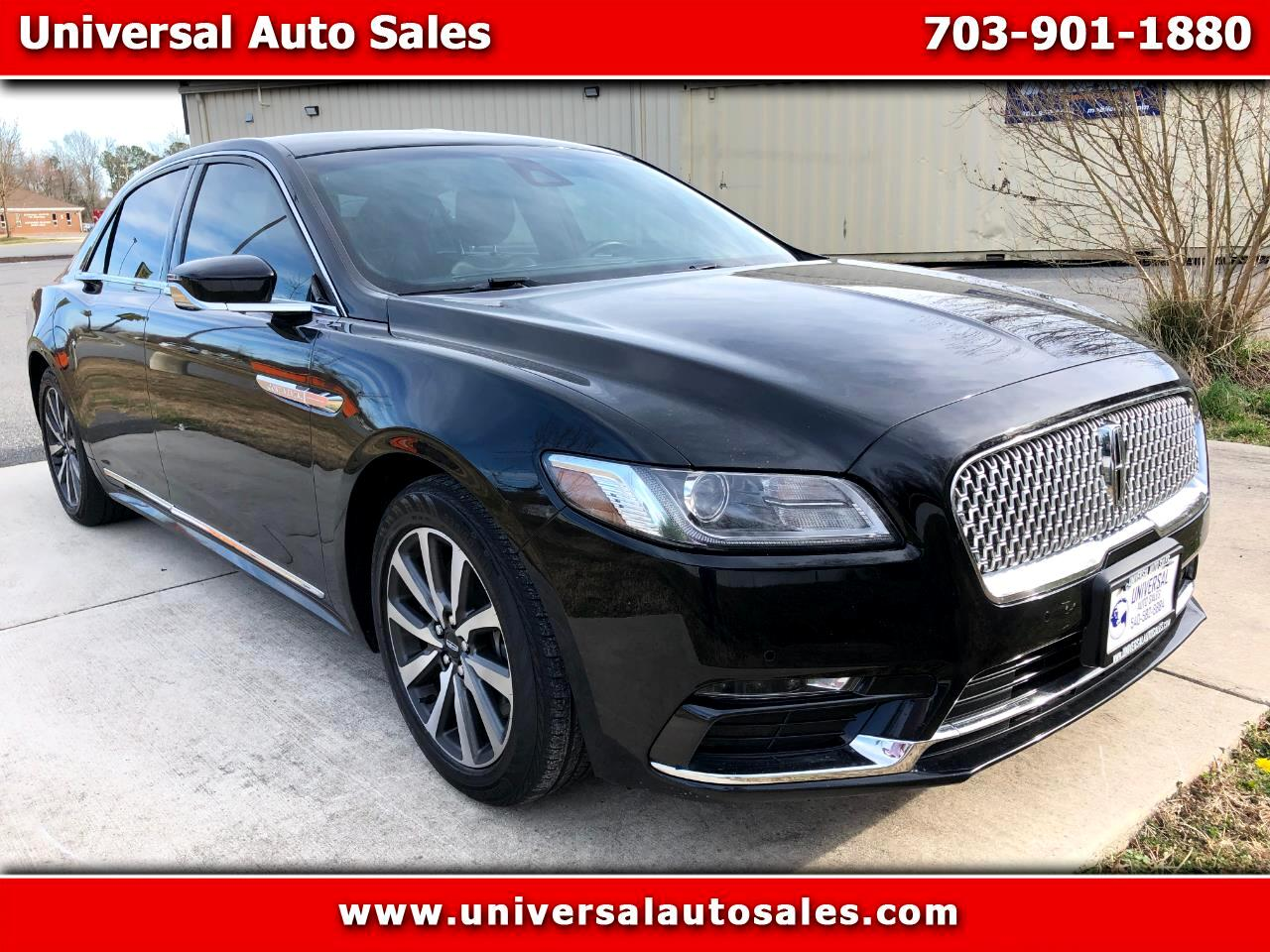Lincoln Continental Livery AWD 2017