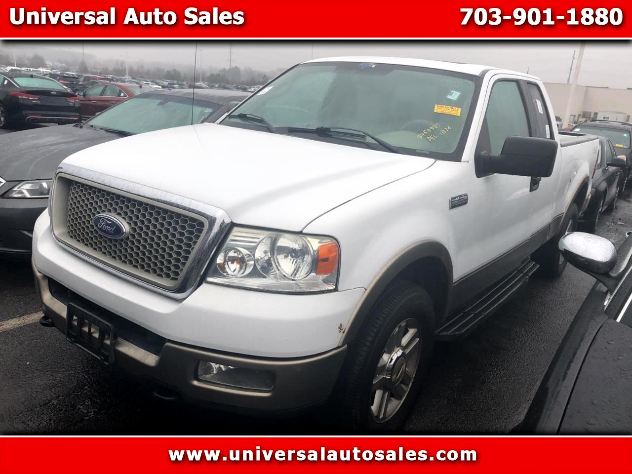 "Ford F-150 Supercab 145"" Lariat 4WD 2004"