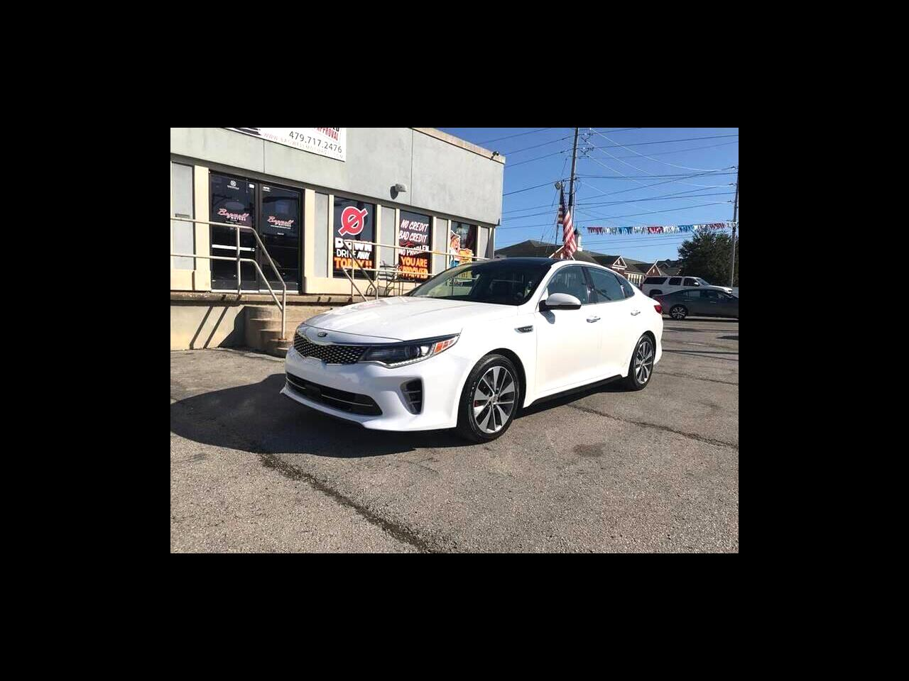 2016 Kia Optima 4dr Sdn SX Turbo
