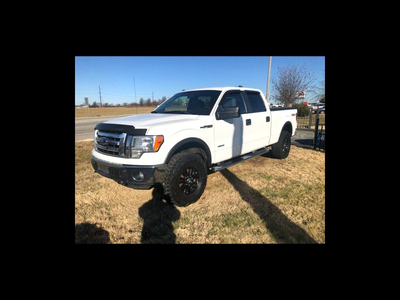 "2012 Ford F-150 4WD SuperCrew 157"" XL w/HD Payload Pkg"