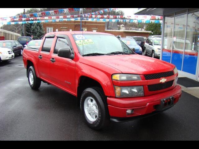 2005 Chevrolet Colorado LS Z85 Crew Cab 4WD w/1SB