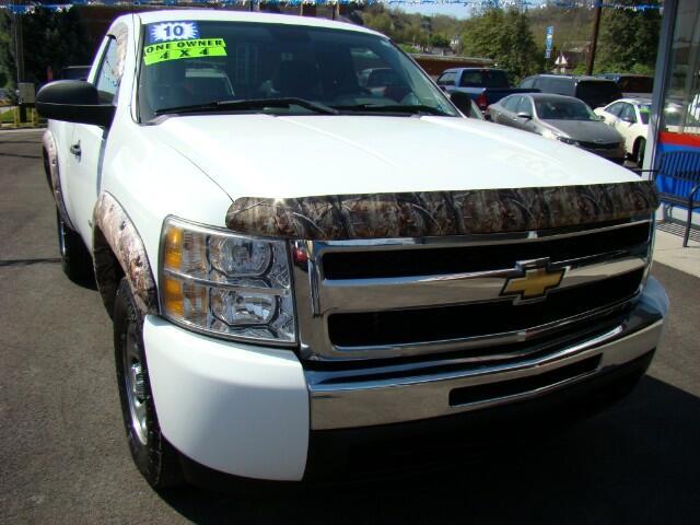 2010 Chevrolet Silverado 1500 Work Truck 4WD