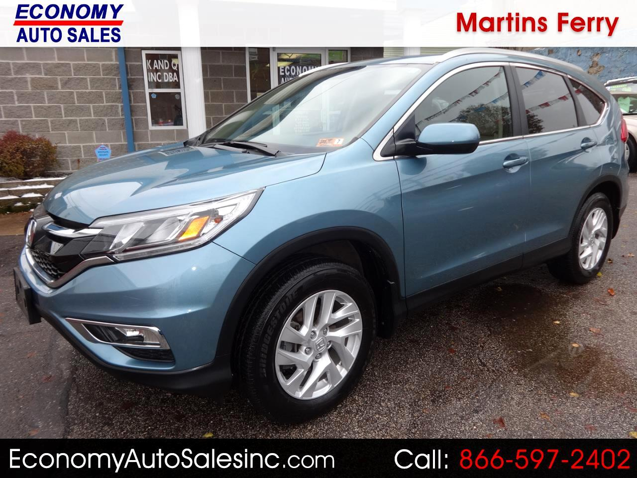2015 Honda CR-V EX-L 4WD with Navigation