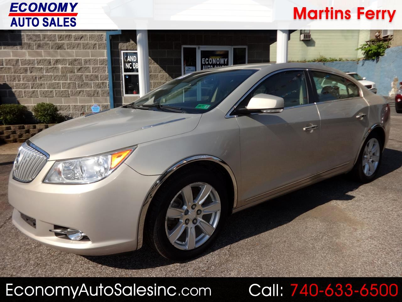 2012 Buick LaCrosse Leather Package