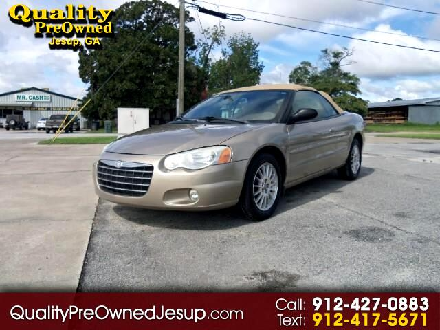 2004 Chrysler Sebring Touring Convertible