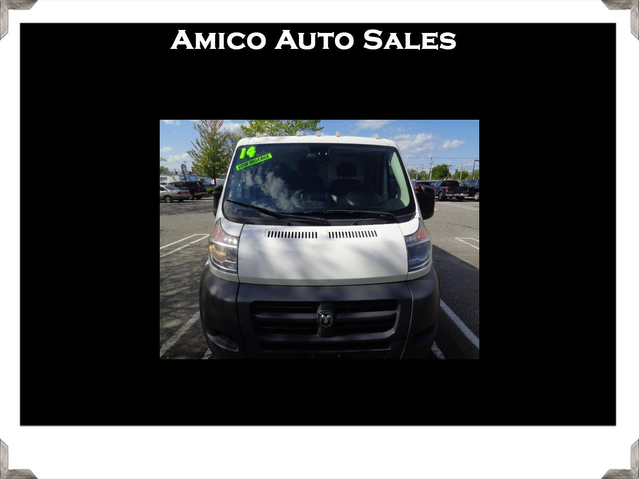 2014 RAM Promaster 1500 Low Roof Tradesman 118-in. WB