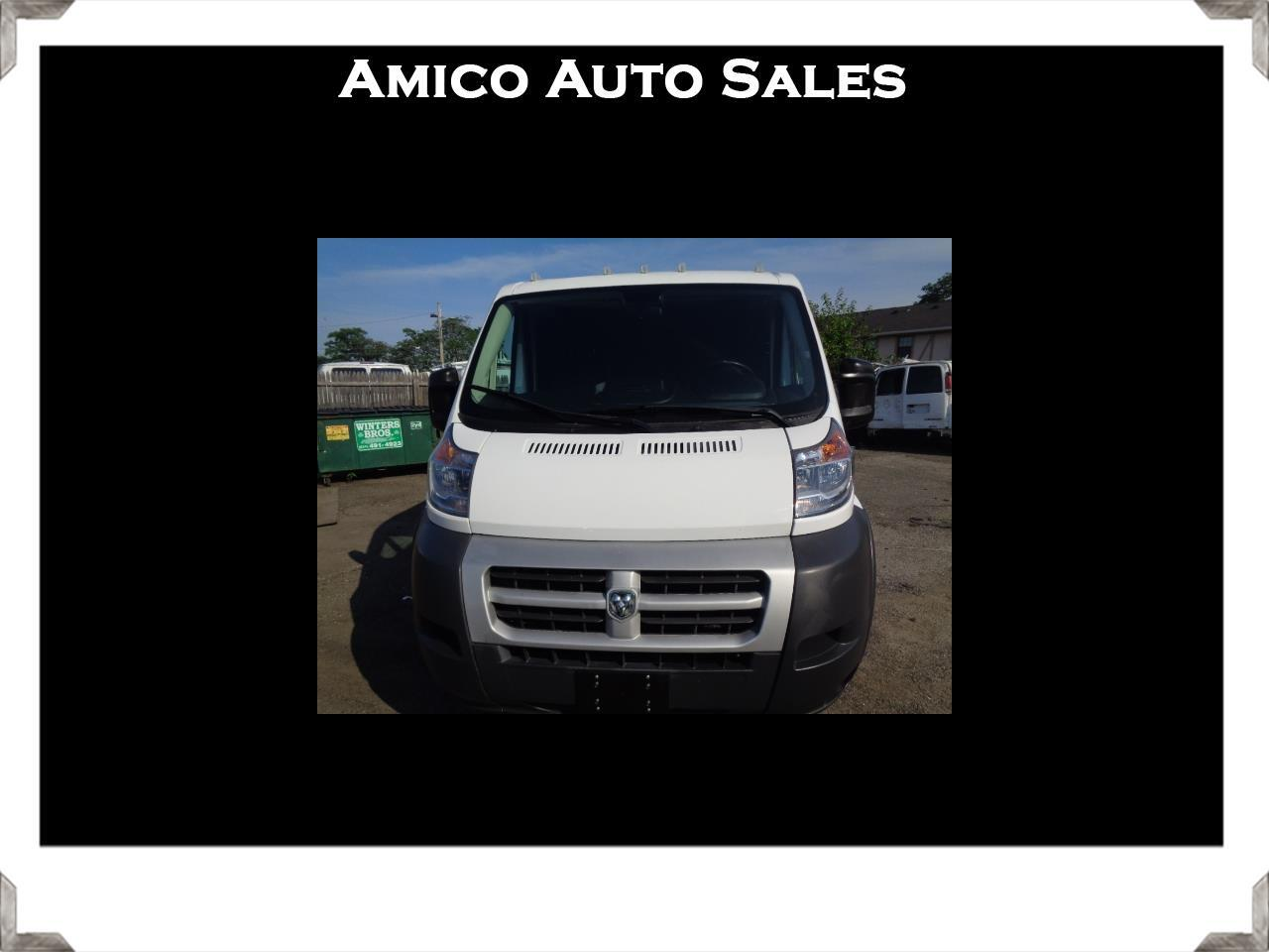 RAM Promaster 1500 Low Roof Tradesman 118-in. WB 2014