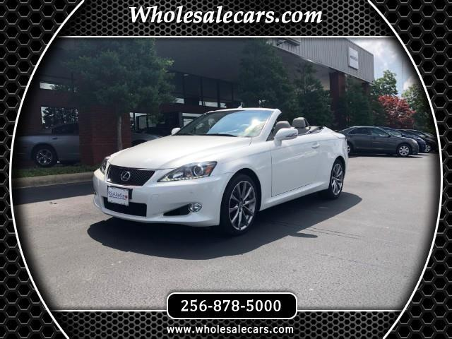 2013 Lexus IS C 250