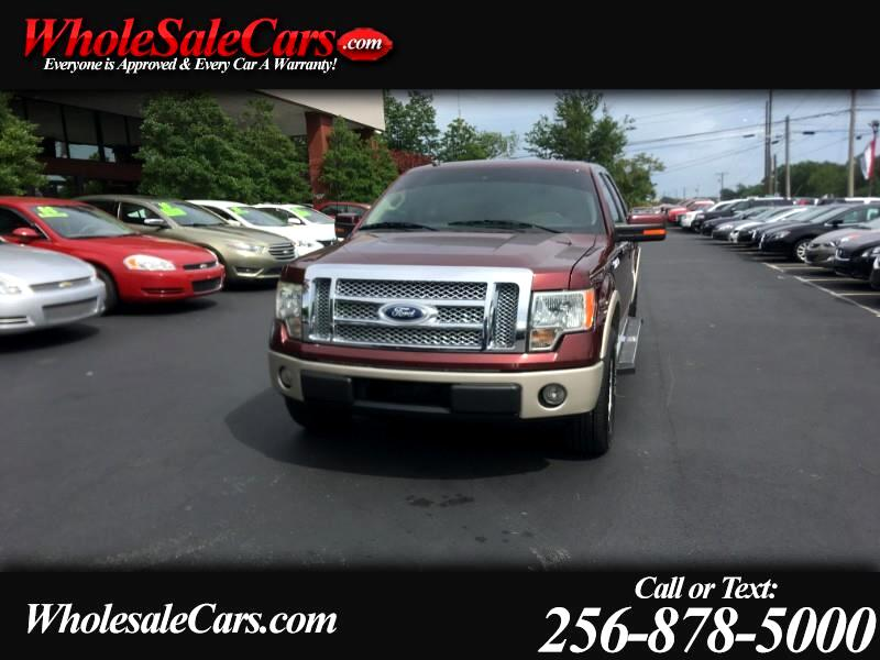 "2010 Ford F-150 2WD SuperCab 145"" Lariat"