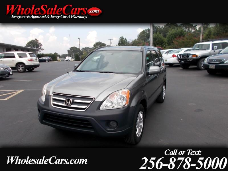 2006 Honda CR-V 4WD EX AT
