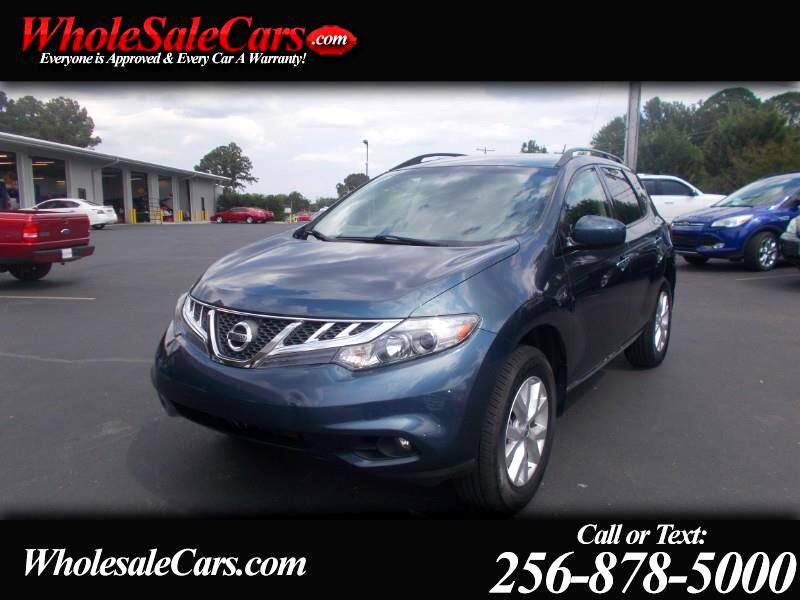Nissan Murano FWD 4dr SV 2014