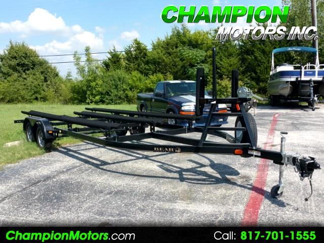 2015 Bear Trailer Mfg. Pontoon Tri-toon