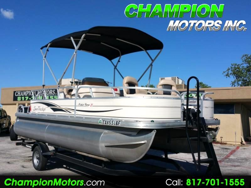 2010 Sun Tracker Fishin Barge 21 Signature Series Pontoon