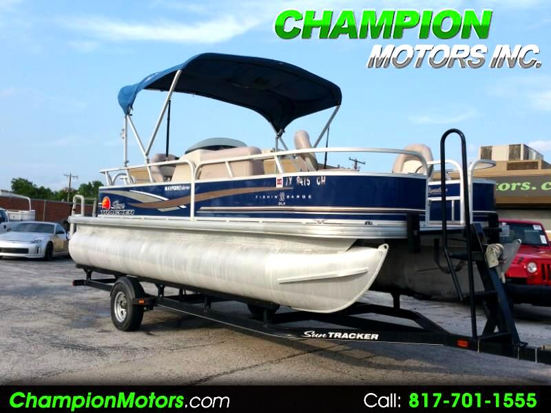 2014 Sun Tracker Fishin Barge 20DLX Pontoon