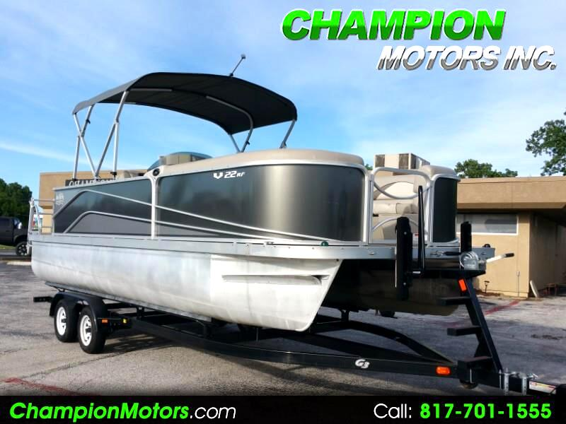 2017 G3 SunCatcher V22 RF Pontoon