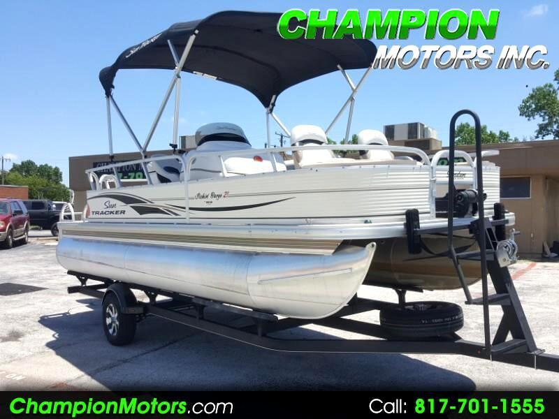 2010 Sun Tracker Fishin Barge 21 Signature Series Pontoon