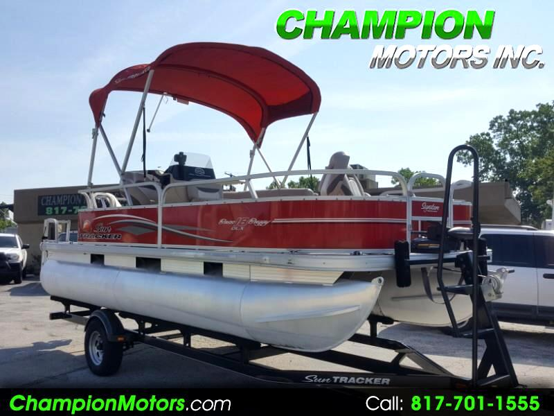 2015 Sun Tracker Bass Buggy 18 DLX Pontoon