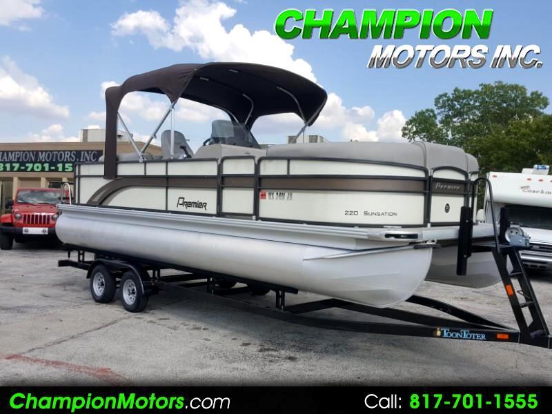 2014 Premier 220 Sunsation Pontoon Boat
