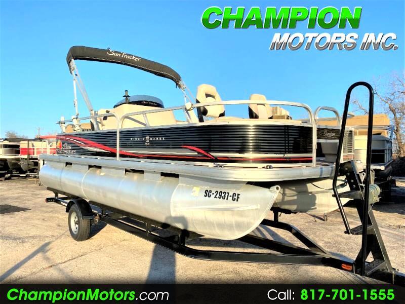 Sun Tracker Fishin Barge  2012