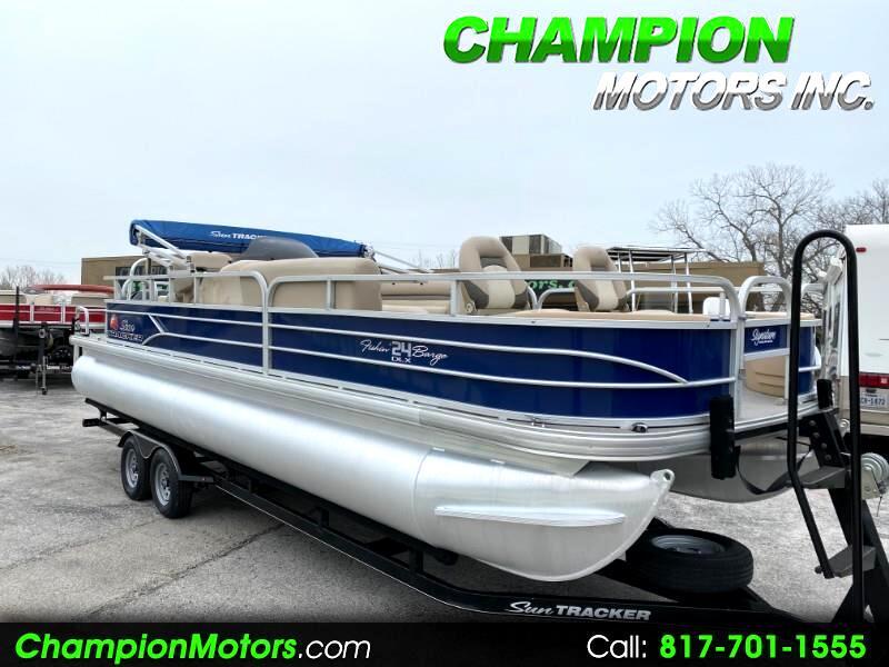 Sun Tracker Fishin Barge  2016