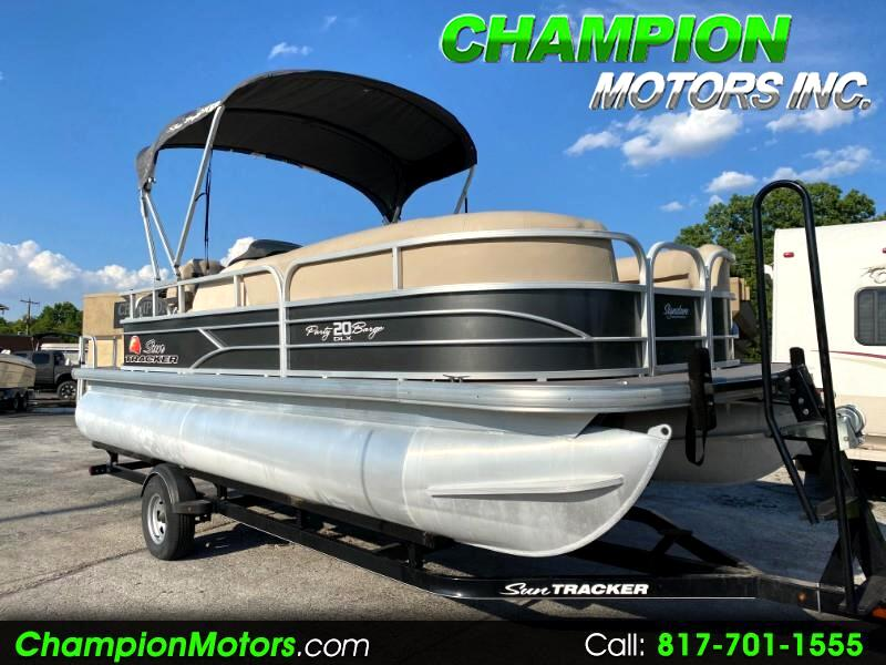 Sun Tracker Party Barge 20 DLX  2016