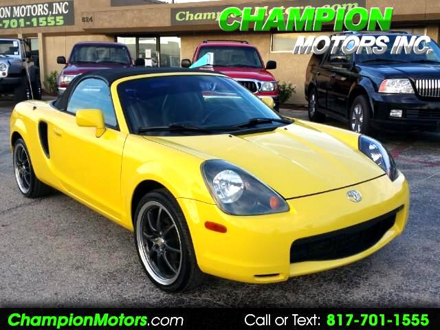2001 Toyota MR2 Spyder Convertible