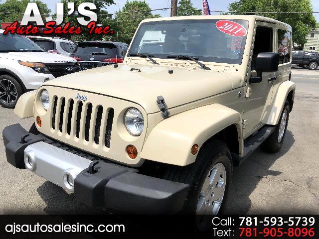 2011 Jeep Wrangler 2dr Sahara