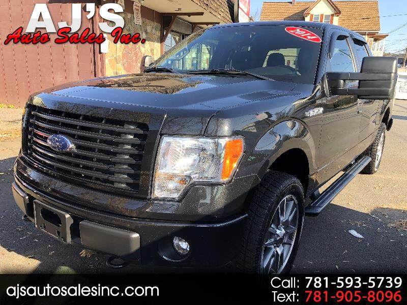 2014 Ford F-150 STX SPORT 4X4 6.5 ft bed