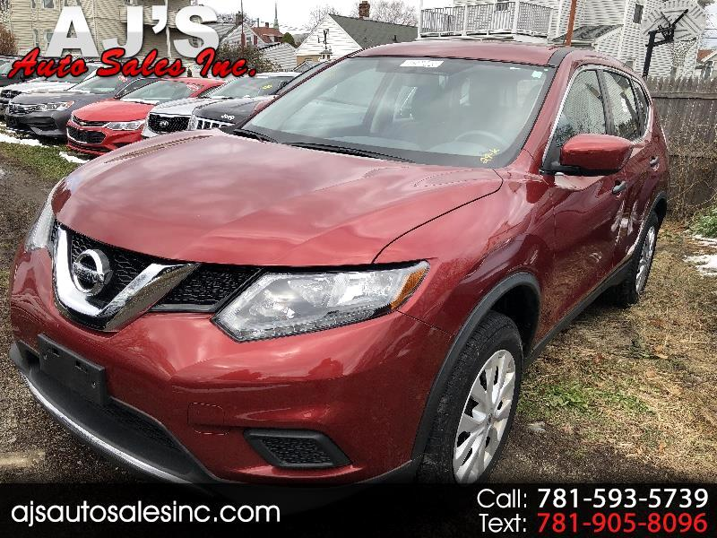 used 2016 nissan rogue s awd for sale in lynn ma 01904 aj 39 s auto sales inc. Black Bedroom Furniture Sets. Home Design Ideas