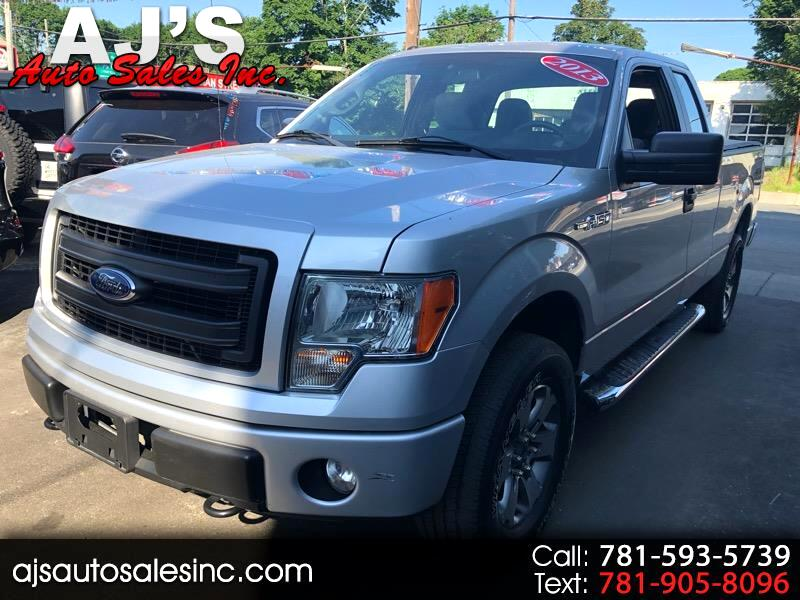 2013 Ford F-150 STX SuperCab 5.5-ft. Bed 4WD