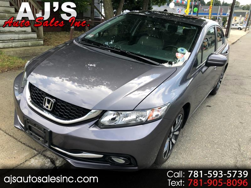 2015 Honda Civic EX-L Sedan AT