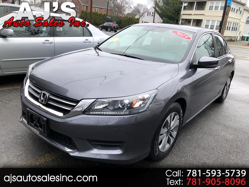 Honda Accord LX Sedan CVT 2015