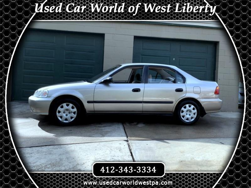 2000 Honda Civic LX sedan