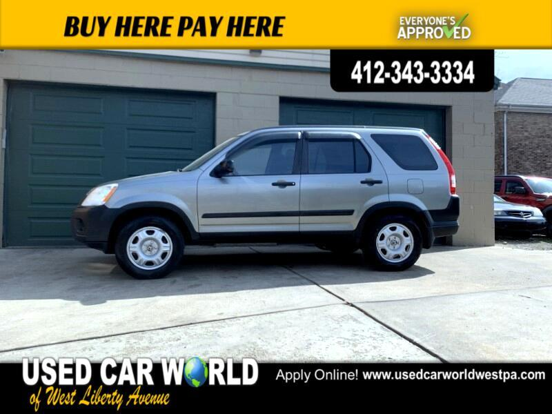 Honda CR-V LX 4WD AT 2006