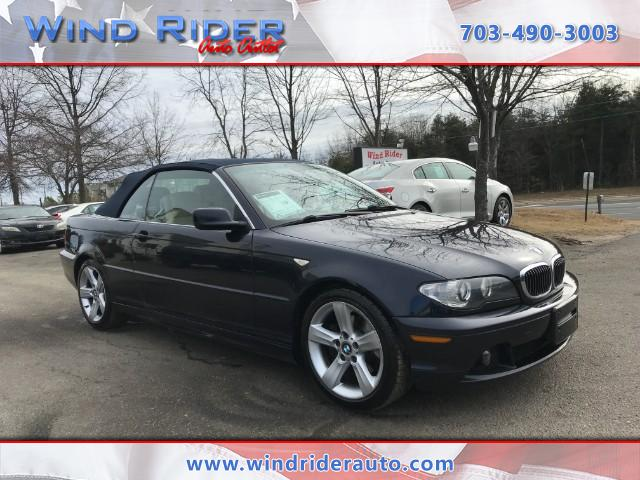 BMW Series Ci Convertible RWD For Sale CarGurus - 2005 bmw 325i convertible