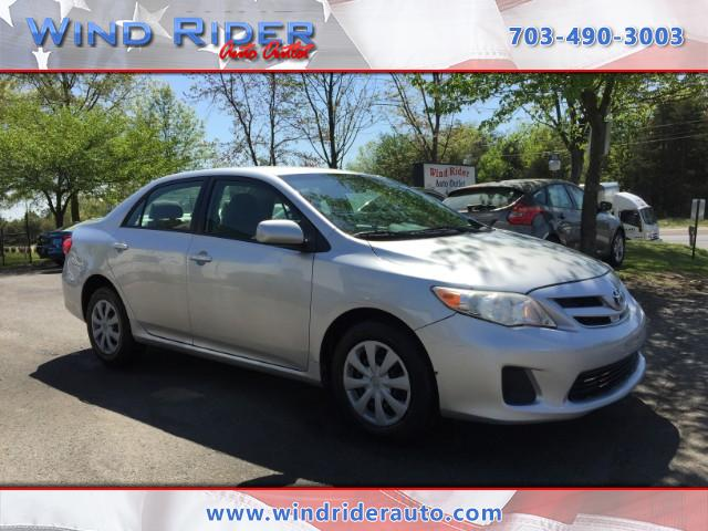 2011 Toyota Corolla Base 4-Speed AT