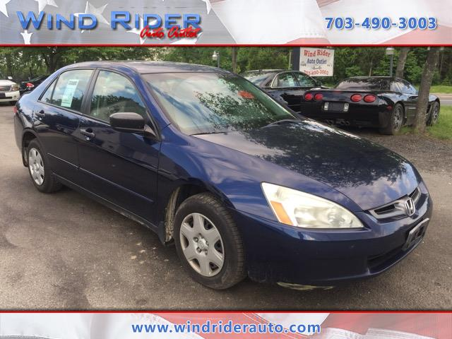 2003 Honda Accord DX sedan AT