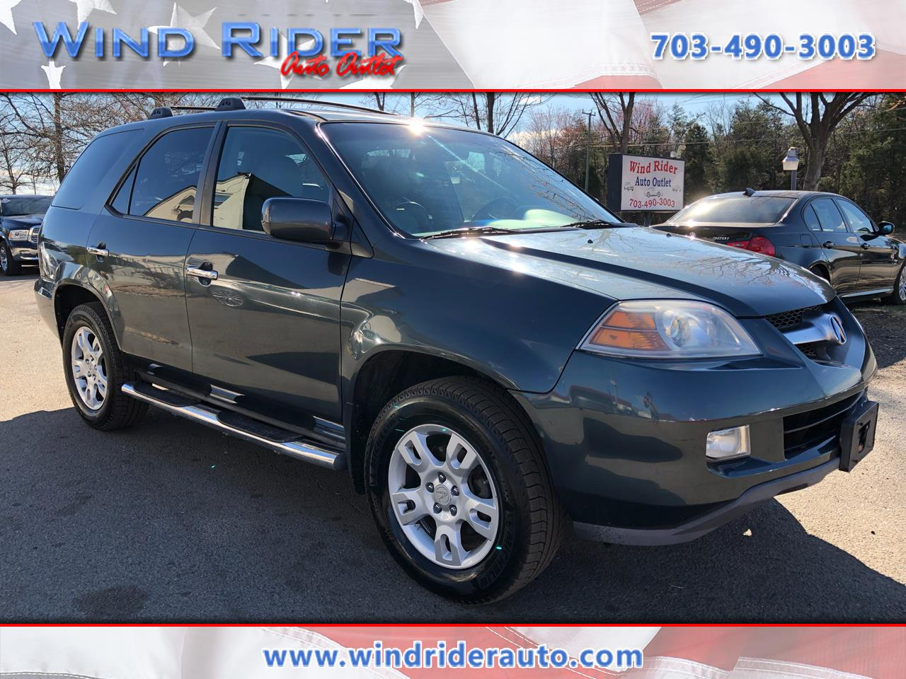 2005 Acura MDX Touring with Rear DVD System