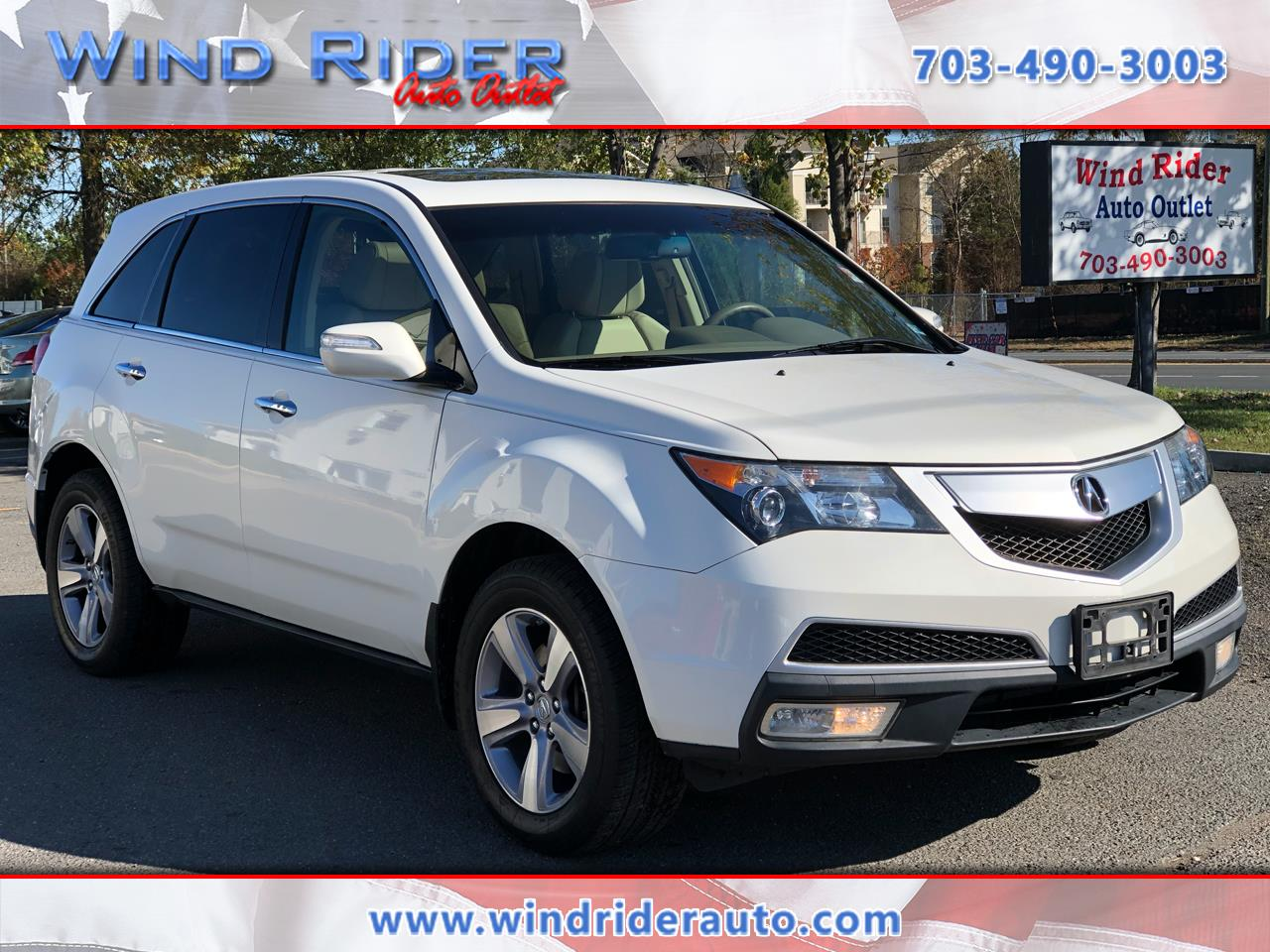 2013 Acura MDX Tech Package AWD