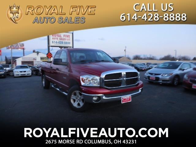 2008 Dodge Ram 1500 SLT Quad Cab Long Bed 4WD