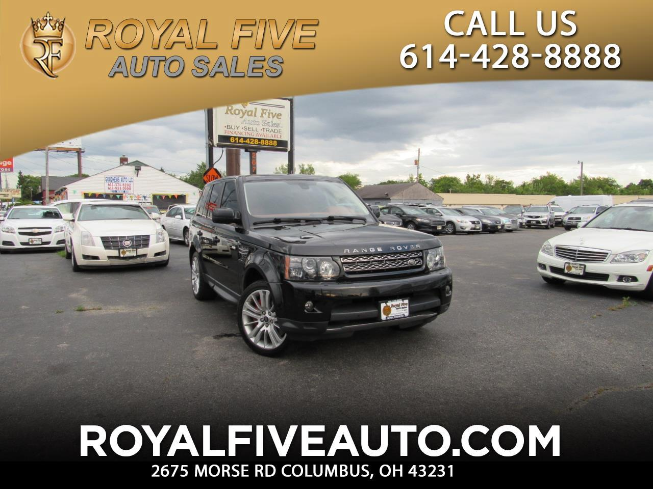 2013 Land Rover Range Rover Sport 5.0L V8 Supercharged Autobiography
