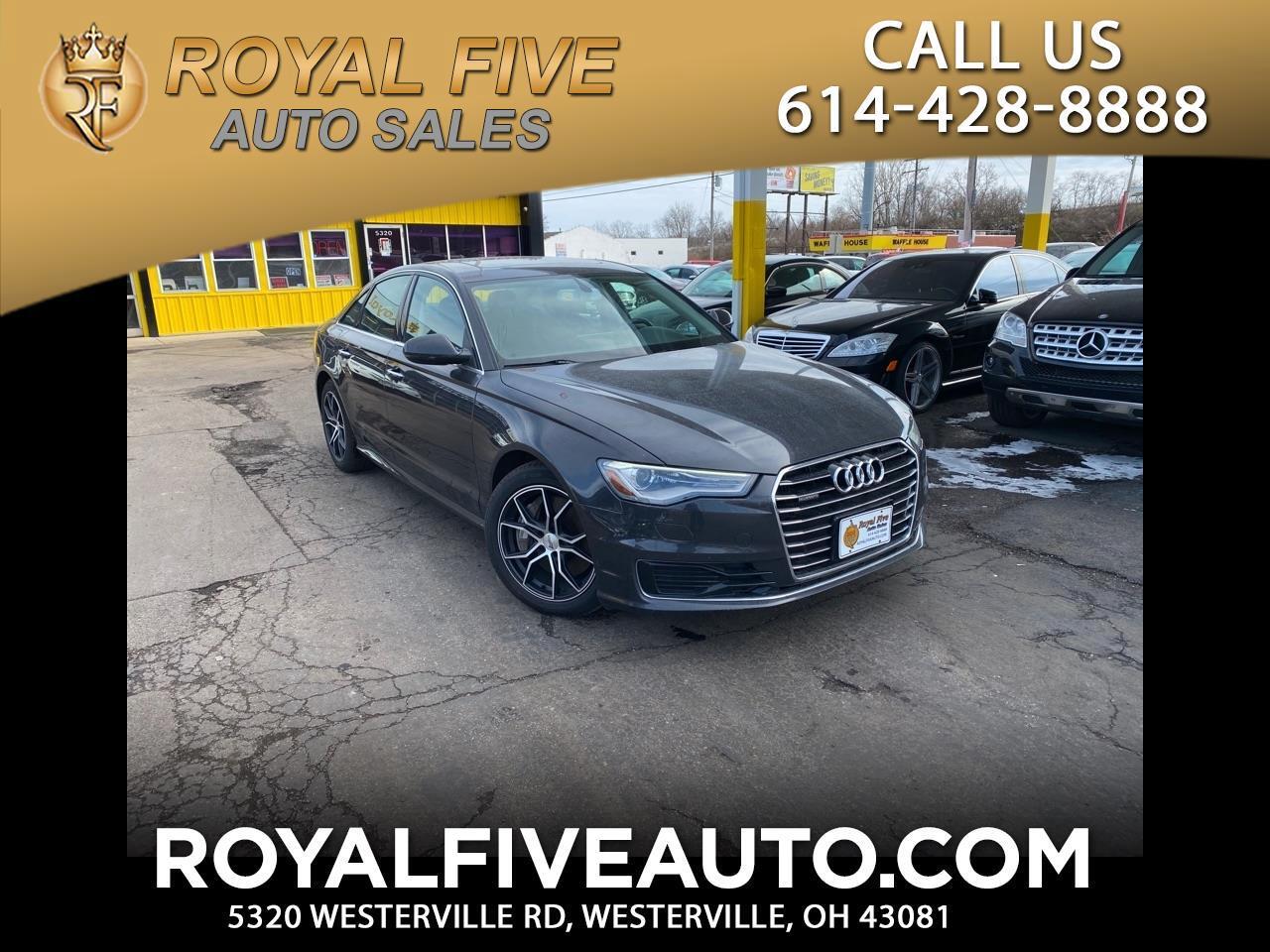 Audi A6 2.0T Premium Plus 2016