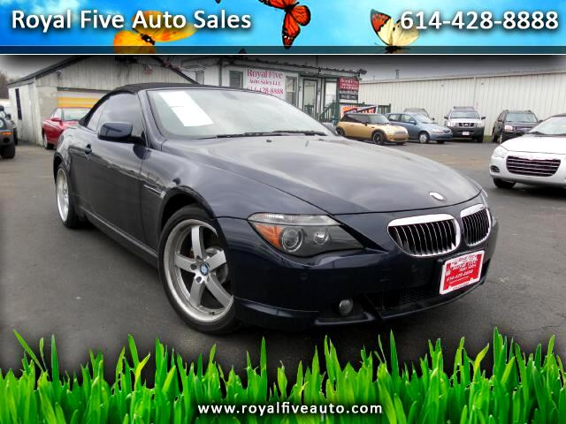 2006 BMW 6-Series 650i Convertible