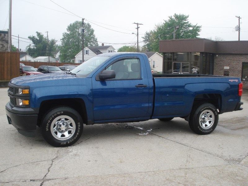 2015 Chevrolet Silverado 1500 Work Truck Long Box 4WD