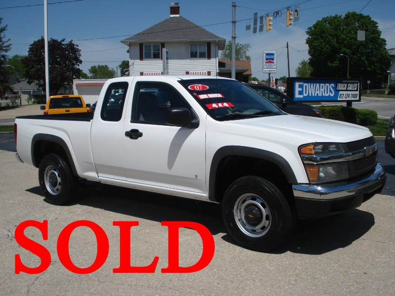 2007 Chevrolet Colorado Work Truck Ext. Cab 4WD