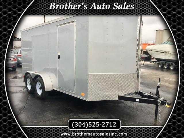2018 Nex Haul 7 x 14 Enclosed Trailer Bullet TA